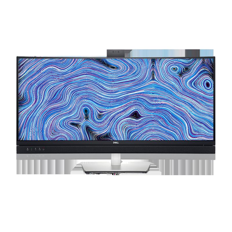 戴尔 34 系列曲面视频会议显示器 :C3422WE